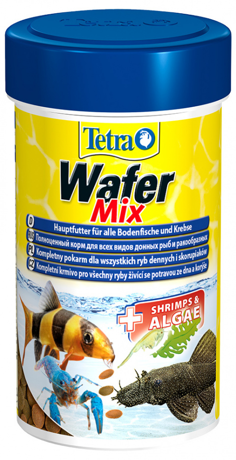 Barība zivīm - Tetra Wafer Mix, 100 ml