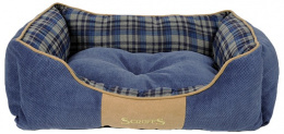 Guļvieta suņiem - Scruffs Highland Dog Bed M, 60*50 cm, blue
