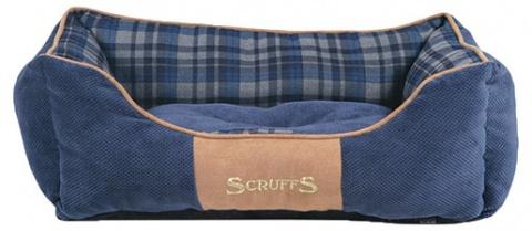 Guļvieta suņiem - Scruffs Highland Dog Bed S, 50*40 cm, blue