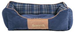 Спальное место для собак - Scruffs Highland Dog Bed S, 50*40 см, blue