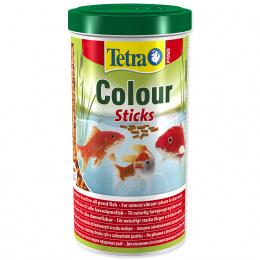 Barība dīķa zīvīm - Tetra Pond Colour Sticks, 1000 ml