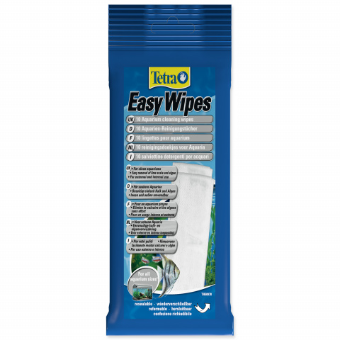 Salvetes akvārija tīrīšanai - Tetra Easy Wipes title=