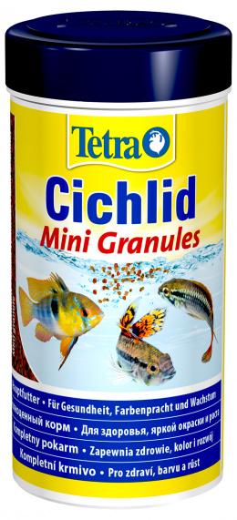 Barība zivīm - Tetra Cichlid Mini Granules 250ml