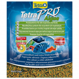 Barība zivīm - Tetra Pro Vegetable Crisps Sachet 12gr