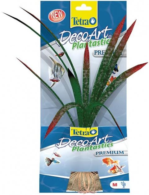 Декоративное растение для аквариума - Растение шелковое Tetra Dragon Flame M title=