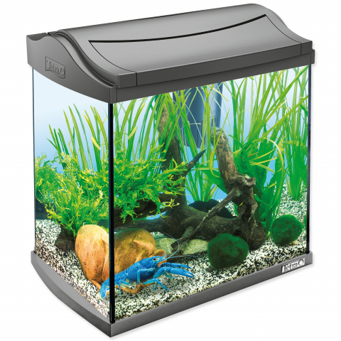 Akvārijs - TETRA AquaArt LED 30l, Crayfish, black