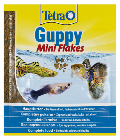Barība zivīm - Tetra Guppy Flakes 10ml