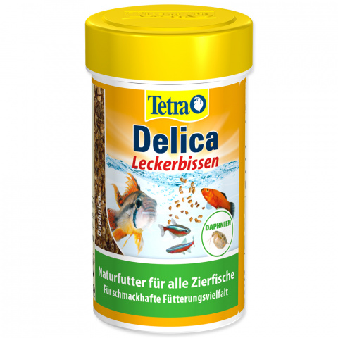 Barība zivīm - Tetra Delica Daphnien, 100ml title=
