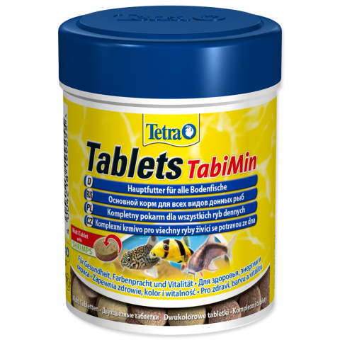 Barība zivīm - Tetra Tabi Min 275 tab