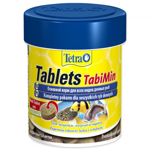 Barība zivīm - Tetra Tabi Min 120 tab title=