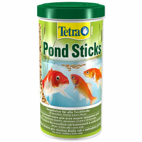 Barība dīķa zivīm - Tetra Pond Sticks, 1 litrs
