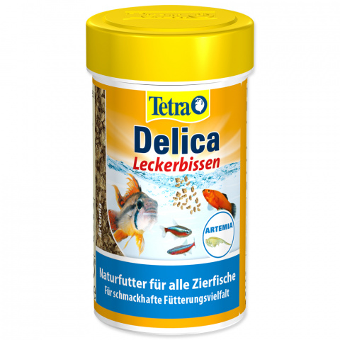 Корм для рыбок - Tetra Delica Brine Shrimps, 100ml
