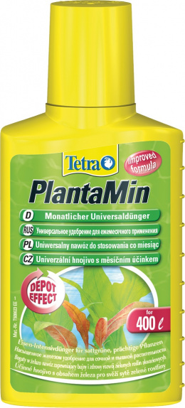 Kopšanas līdzeklis akvārija augiem - Tetra PlantaMin, 100 ml