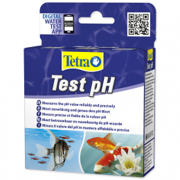Tests saldūdens akvārijam - Tetra PH test, 10ml