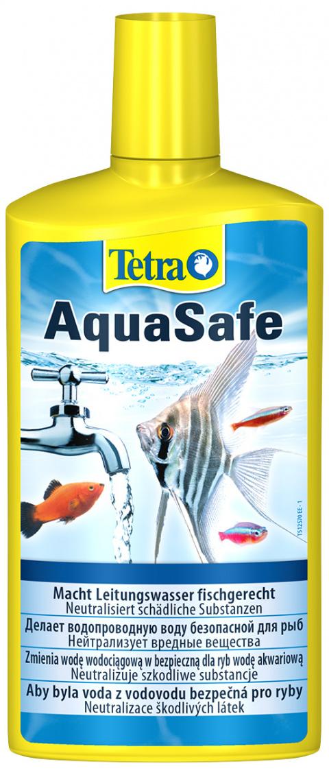 Ūdens kopšanas līdzeklis - Tetra Aqua Safe, 500 ml title=