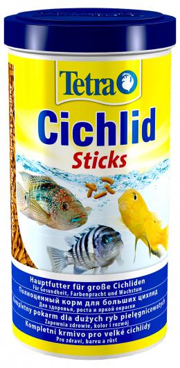 Barība zivīm - Tetra Cichlid Sticks 1000ml