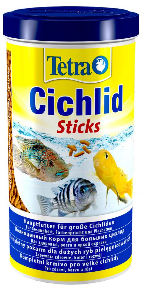 Корм для рыбок - Tetra Cichlid Sticks 1000ml title=