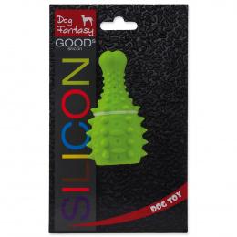 Rotaļlieta suņiem -  DogFantasy Good's Silikona košļājamā rotaļlieta, vistas kāja, 10*5.3cm, zaļa