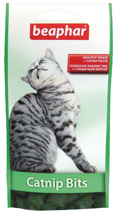 Gardums kaķiem - Beaphar Catnip Bits, 35 g title=