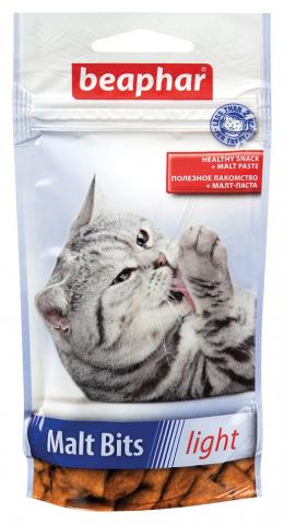 Лакомство для кошек - Beaphar Malt-Bits Light 35г