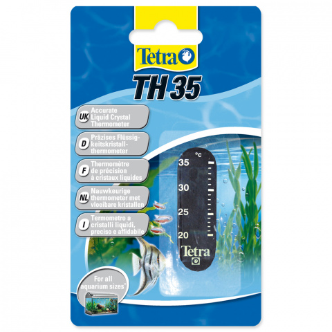 Самоклеящийся термометр - Thermometer Tetra, TH35 title=