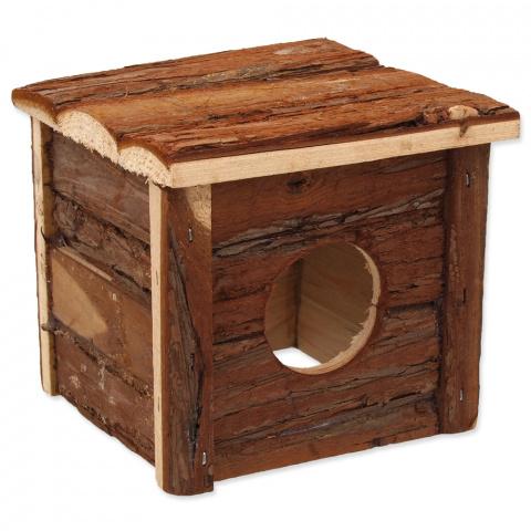 Деревянный домик для грызунов - SMALL ANIMAL, 40 x 23 x 20 см title=