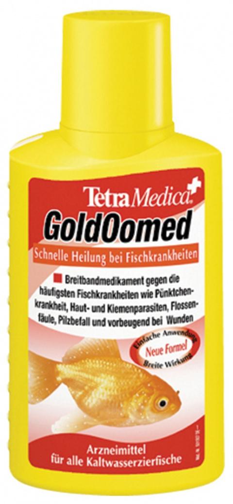 Zivju ārstēšanas līdzeklis - TetraMedica Gold Oomed 100ml title=