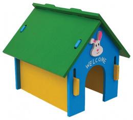 Māja grauzējiem - Small Animal, 24,5*22,5*23 cm