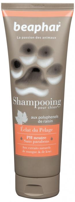 Šampūns suņiem - Beaphar, ECLAT DU PELAGE, (spīdīgai spalvai), 250ml