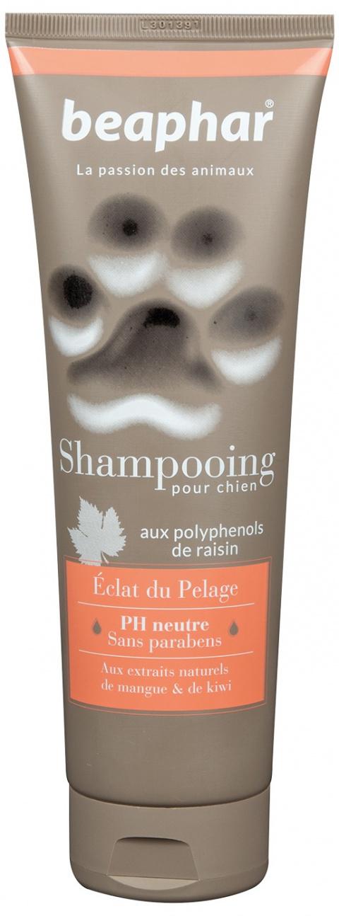 Šampūns suņiem - Beaphar, ECLAT DU PELAGE, (spīdīgam apmatojumam), 250 ml