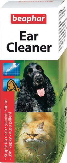 Līdzeklis ausu tīrīšanai - Beaphar Ear Cleaner, 50 ml