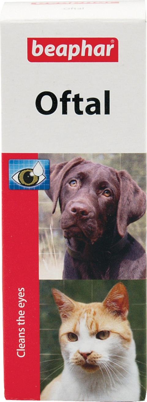 Līdzeklis acu tīrīšanai - Beaphar Oftal-Augenpfl. 50ml title=