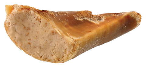 Gardums suņiem - Rasco Premium Beef hoof stuffed with chicken meat, 1gb.