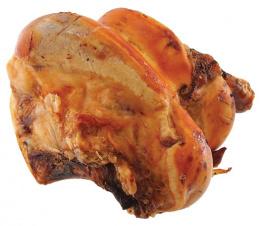 Лакомство для собак - Rasco Dried Beef bone, 1шт.