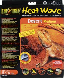 Аксессуары для террариев - ExoTerra Heat Wave Desert medium