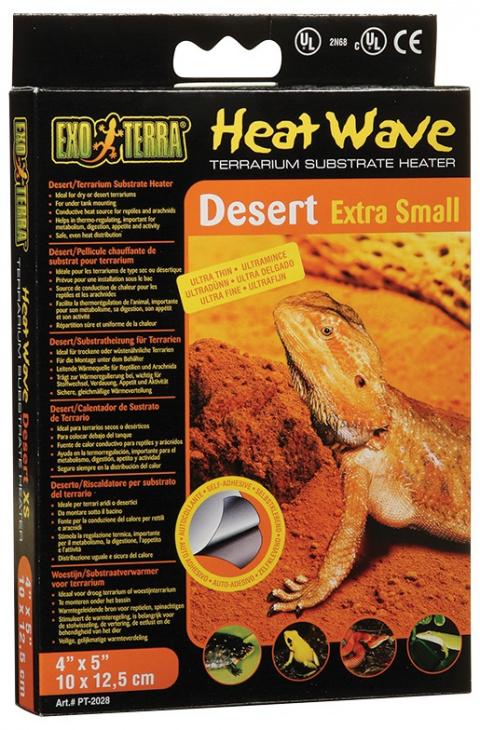 Аксессуары для террариев - ExoTerra Heat Wave Desert XS
