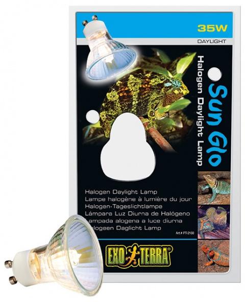 Лампа для террариума - Sun Glo Halogen, 35 W title=