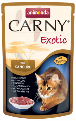 Konservi kaķiem - Animonda Carny Exotic, ar ķengura gaļu, 85 g