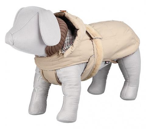Джемпер для собак - Brianza Coat, S, 33cm, бежевый title=