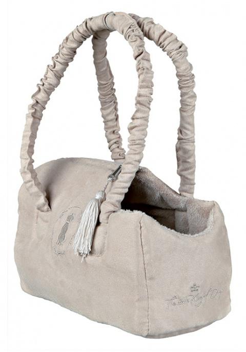 Transportēšanas soma dzīvniekiem - Trixie King of Dogs carrier, 14*20 *30 cm title=