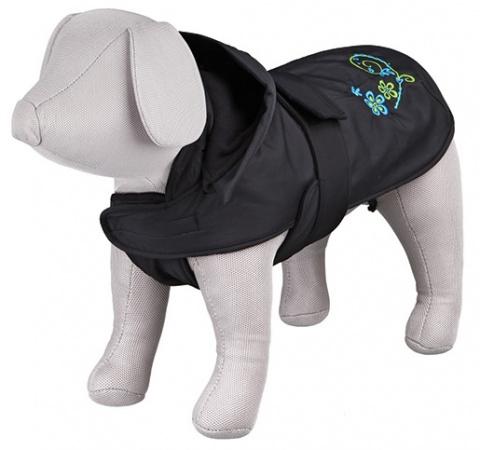 Одежда для собак - Trixie Evry coat, S, 36 cм, цвет - черный  title=