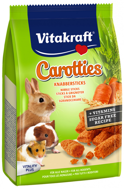 Gardums grauzējiem - VITAKRAFT Maxi Carotties, 50 g