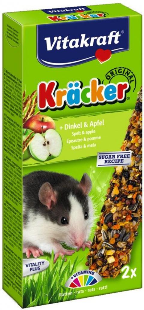 Лакомство для крыс - Kracker*2 for Rats (Corn&Fruit) title=