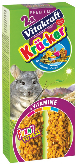 Gardums šinsilām - Kracker*2 for Chinchilla (calcium) 112g