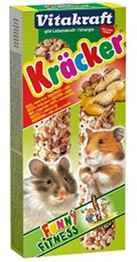 Gardums kāmjiem - Kracker*2 for Hamster (nut) 112g title=