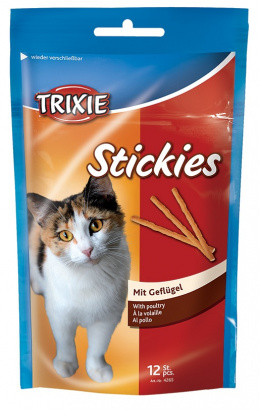 Gardums kaķiem - Kitty sticks ar vistu 12gab  25g Tr.4265