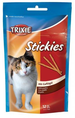 Лакомство для кошек - Kitty sticks ar vistu 12шт  25g Tr.4265