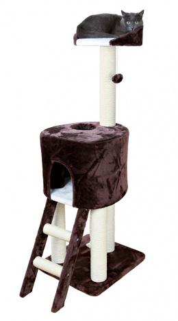 """Домик для кошек - """"Rolanda"""" 130cm, коричневый/белый"""