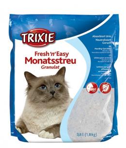 """Silikona smiltis / pakaiši kaķu tualetei - Trixie """"Fresh'n'Easy""""  3,8 l"""