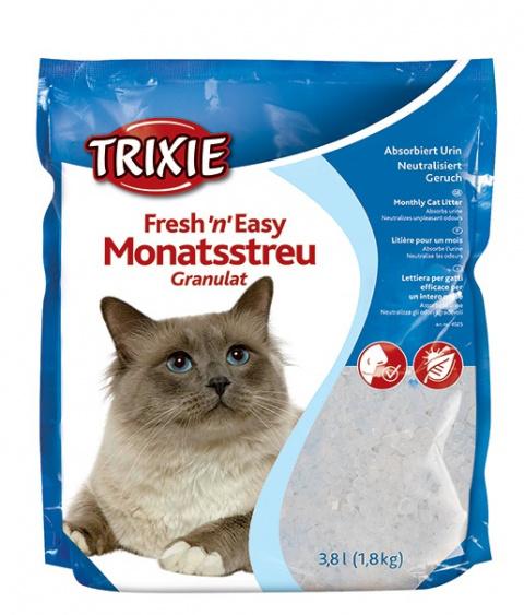"""Силиконовый песок / наполнитель для кошачьего туалета - Trixie """"Fresh'n'Easy"""" 3,8 л title="""